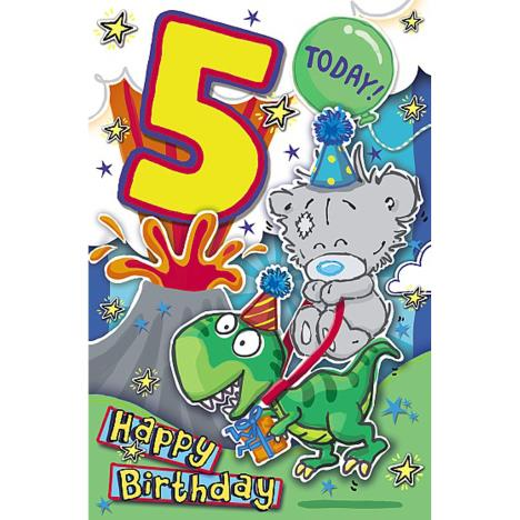 My Dinky 5 Today Me to You Bear 5th Birthday Card  £1.89