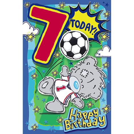 My Dinky 7 Today Me to You Bear 7th Birthday Card  £1.89