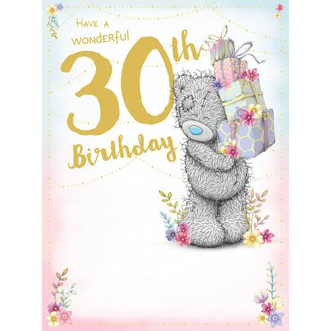 Wonderful 30th Large Me to You Bear Birthday Card  £3.59