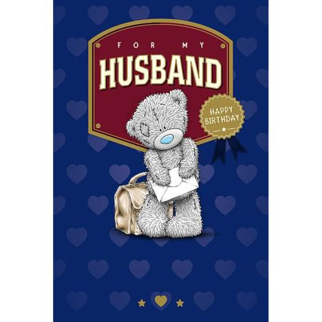Husband Me to You Bear Birthday Card  £3.59