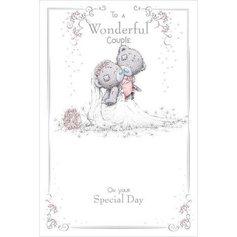 Wonderful Couple Me To You Bear Wedding Day Card  £3.59