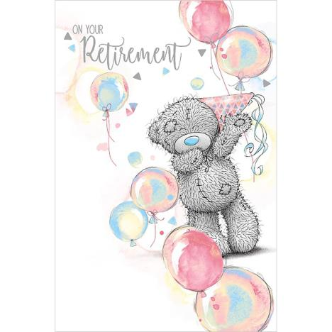 On Your Retirement Me To You Bear Card  £2.49