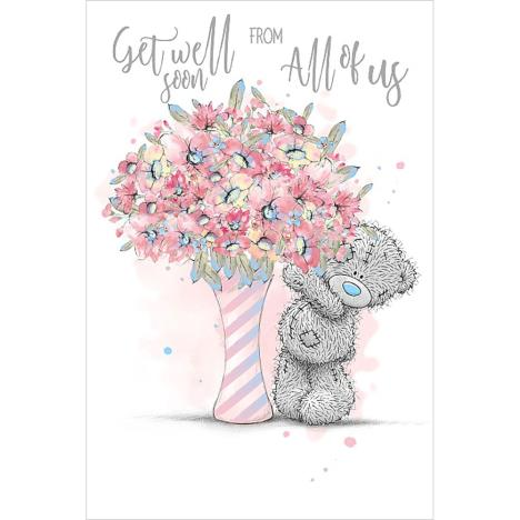 Get Well Soon From All Of Us Me To You Bear Card  £2.49