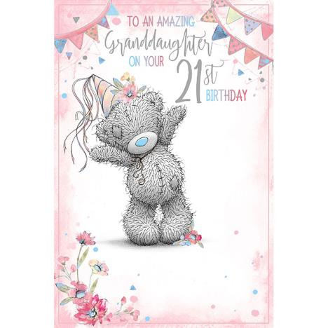 Granddaughter 21st Me To You Bear Birthday Card  £2.49