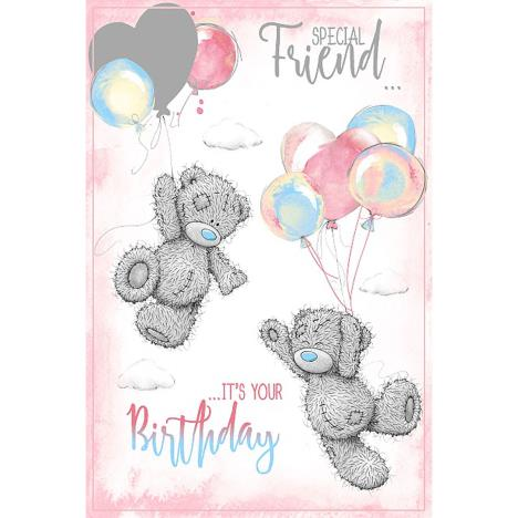 Special Friend Me To You Bear Birthday Card  £2.49