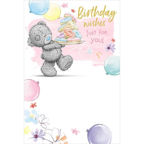 Birthday Wishes Just For You Me to You Bear Birthday Card  £2.49