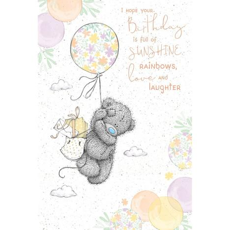 Birthday Balloon Me to You Bear Birthday Card  £2.49