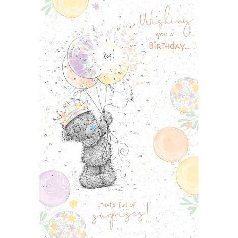 Birthday Balloons Me to You Bear Birthday Card  £2.49