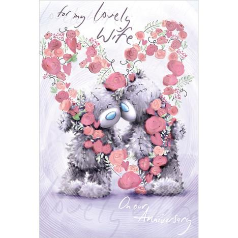 Lovely Wife Me to You Bear Anniversary Card  £2.49