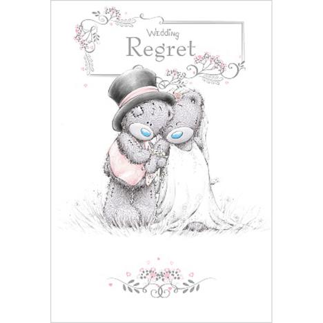 Wedding Regret Me To You Bear Wedding Day Card  £1.49