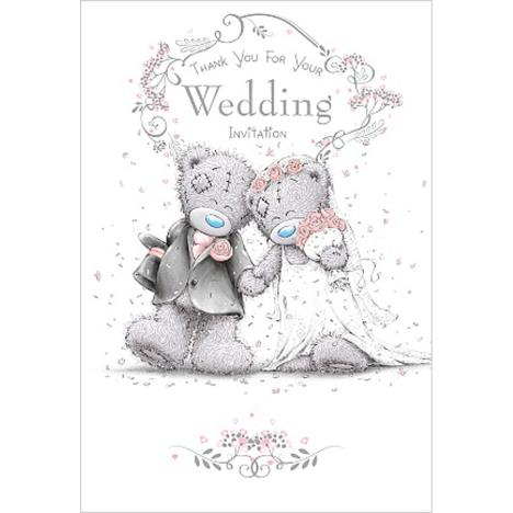 Thank You Wedding Invitation Me To You Bear Wedding Day Card  £1.49