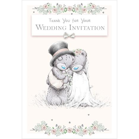Wedding Thank You Invitation Me to You Bear Card  £1.49