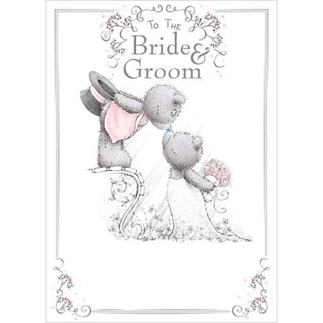 Bride & Groom Me To You Bear Wedding Day Card  £1.79