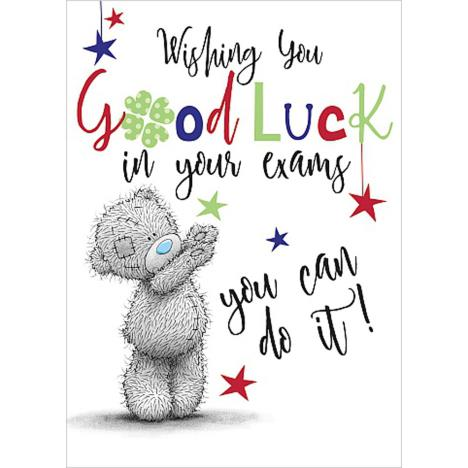 Good Luck In Your Exams Me To You Bear Card  £1.69