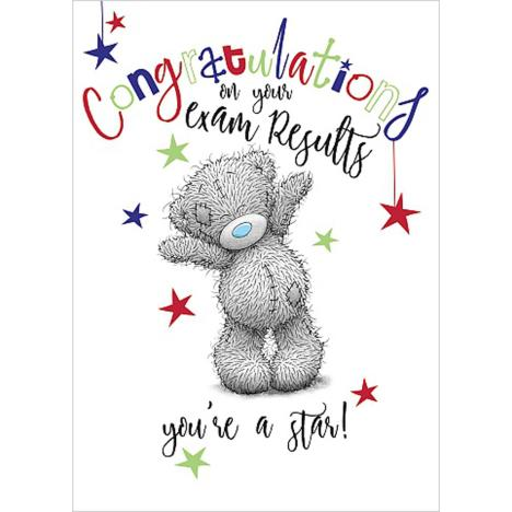 Exam Results Congratulations Me to You Bear Card  £1.69