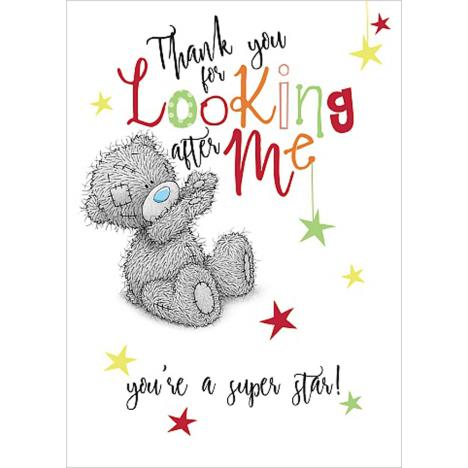 Thank You For Looking After Me Me to You Bear Card  £1.69