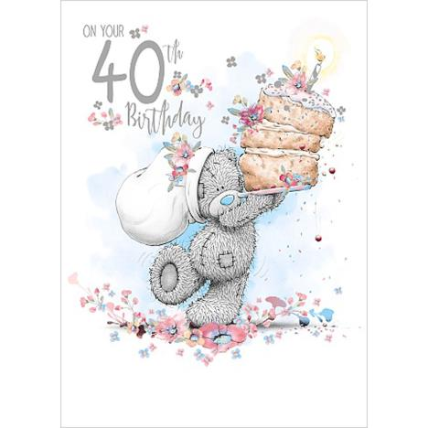 On Your 40th Me To You Bear Birthday Card  £1.79