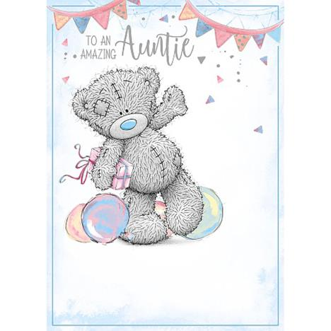Amazing Auntie Me To You Bear Birthday Card  £1.79