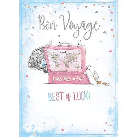 Bon Voyage Me To You Bear Card  £1.79