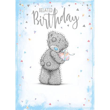 Belated Birthday Me To You Bear Birthday Card  £1.79