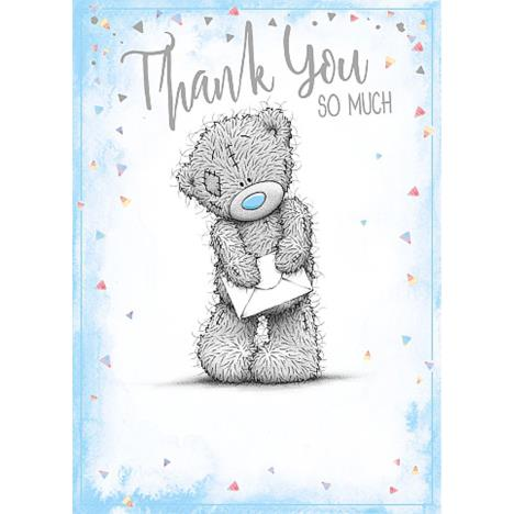 Thank You So Much Me To You Bear Card  £1.79