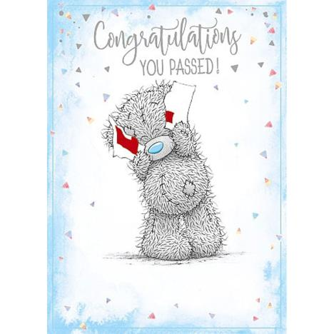 Driving Test Congratulations Me to You Bear Card  £1.79