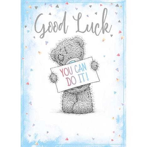 Good Luck Me To You Bear Card  £1.79