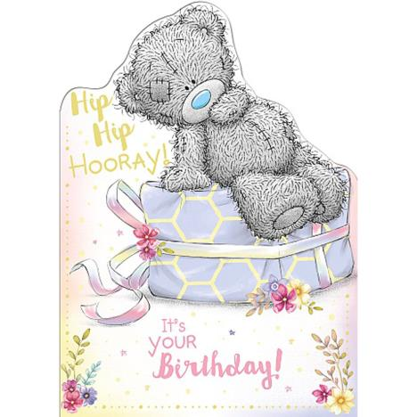 Hip Hip Hooray Me to You Bear Birthday Card  £1.79