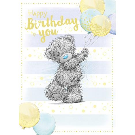 Bouquet of Balloons Me to You Bear Birthday Card  £1.79