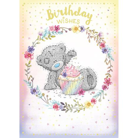 Birthday Wishes Sprinkling Cupcake Me to You Bear Birthday Card  £1.79