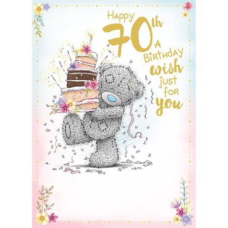 Happy 70th Me to You Bear Birthday Card  £1.79