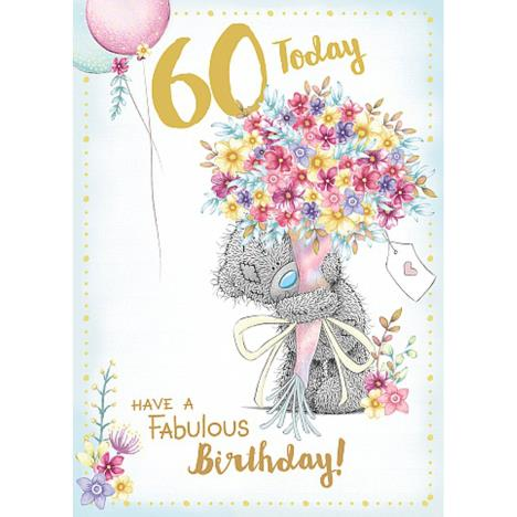 60 Today Me to You Bear 60th Birthday Card  £1.79
