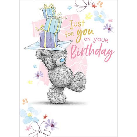 Just For You Me to You Bear Birthday Card  £1.79