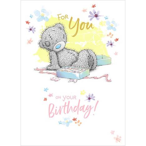 Tatty Teddy Sat With Chocolates Me to You Bear Birthday Card  £1.79