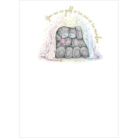 Bears Under Blanket Me to You Bear Card  £1.79