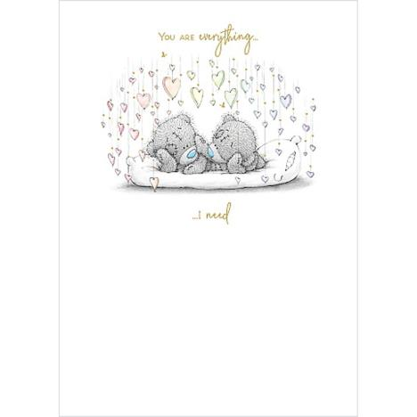 Bears On Pillow Me to You Bear Card  £1.79
