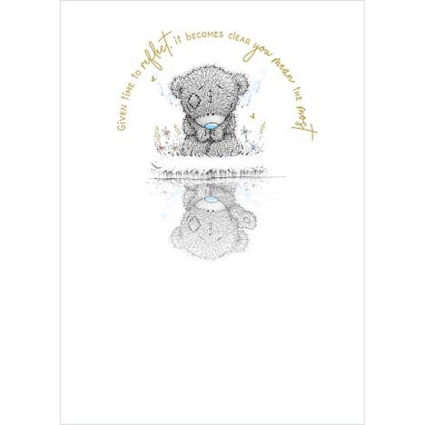 Bears Looking at Reflection Me to You Bear Card  £1.79