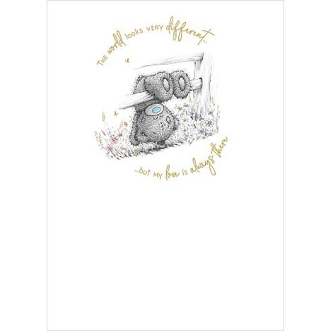 Tatty Teddy On Fence Me to You Bear Card  £1.79
