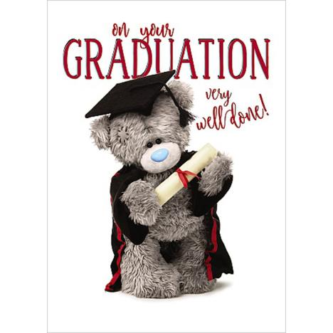 On Your Graduation Me To You Bear Card  £1.69