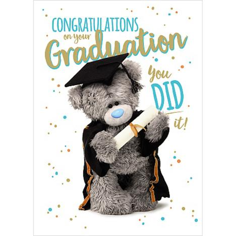 Congratulations On Your Graduation Me to You Bear Card  £1.69