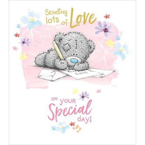 Sending Lots Of Love Me to You Bear Birthday Card  £1.89