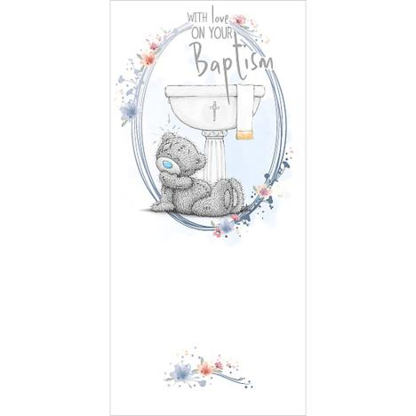 On Your Baptism Me To You Bear Card  £1.89