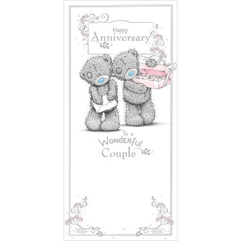 Wonderful Couple Me to You Bear Anniversary Card  £1.89