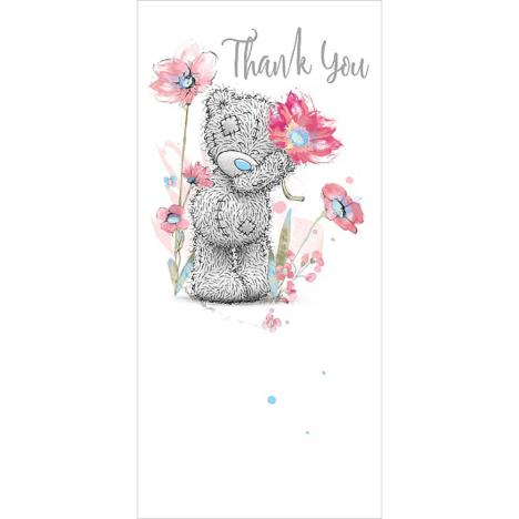 Holding Flower Me To You Bear Thank You Card  £1.89