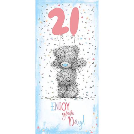 21st Birthday Me To You Bear Card  £1.89