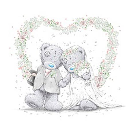 Wedding Me to You Bear Gift Tag  £4.00