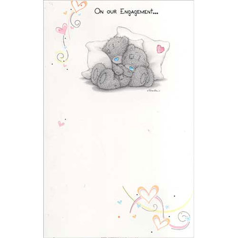 On Our Engagement Me to You Bear Card   £2.25