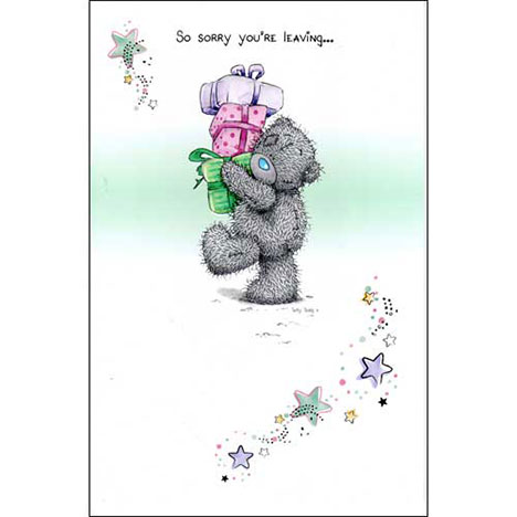 Leaving Me to You Bear Card   £2.25