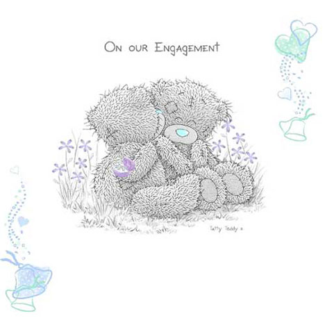 Me to You Bear Engagement Invitations   £3.75