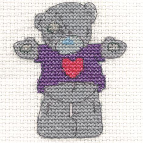 Hug Me Me to You Bear Mini Cross Stitch Kit  £2.99